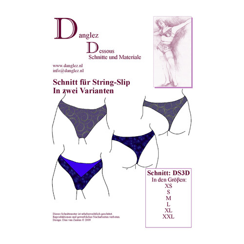 Danglez  Azalea (DS3) Stringschnitt in zwei Variationen
